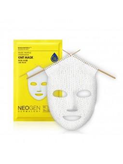 Вязаная маска дли лица и...